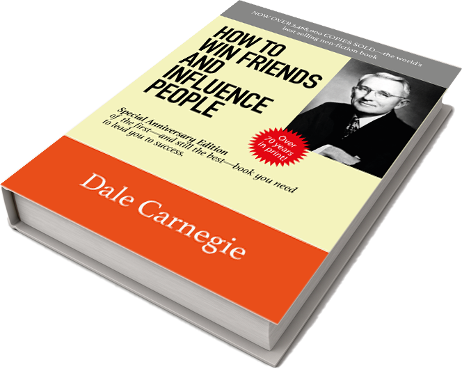 Front cover of Dale Carnegie's book